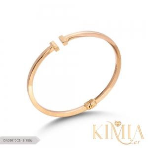 دستبند T تیفانی کد DA0901002