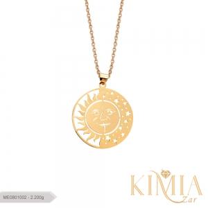 مدال لیزری خورشید و ستاره کد ME0801002