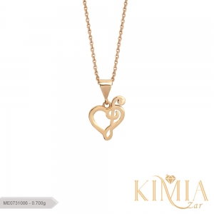 مدال قلب کد ME0731006