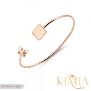 دستبند پیریل پروانه کد DA0741003