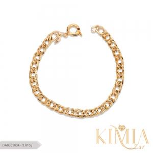 دستبند صالح طلا کد DA0601004