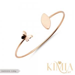 دستبند پیریل پروانه کد DA0741018