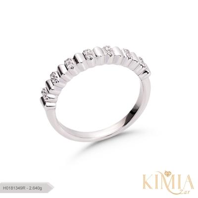 حلقه پایه جواهر لوکس کد H0181349R