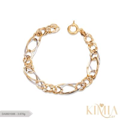 دستبند صالح طلا کد DA0601006