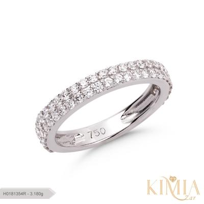 حلقه پایه جواهر لوکس کد H0181354R