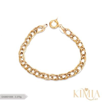 دستبند صالح طلا کد DA0601008